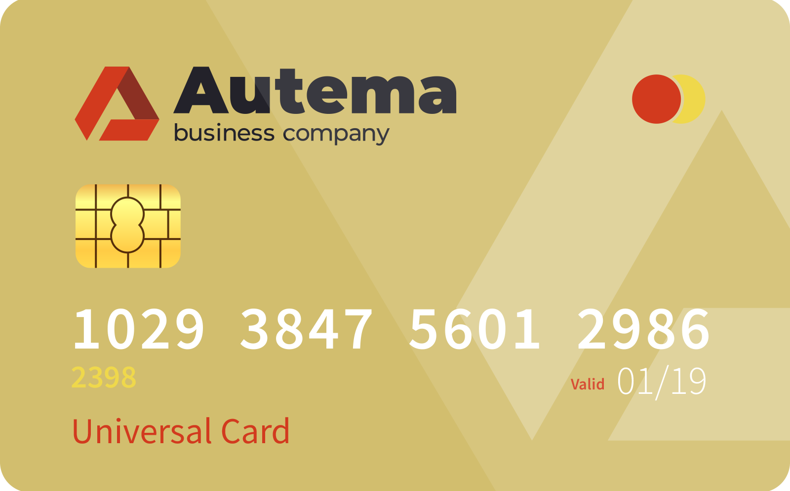 <span> Universal </span> card