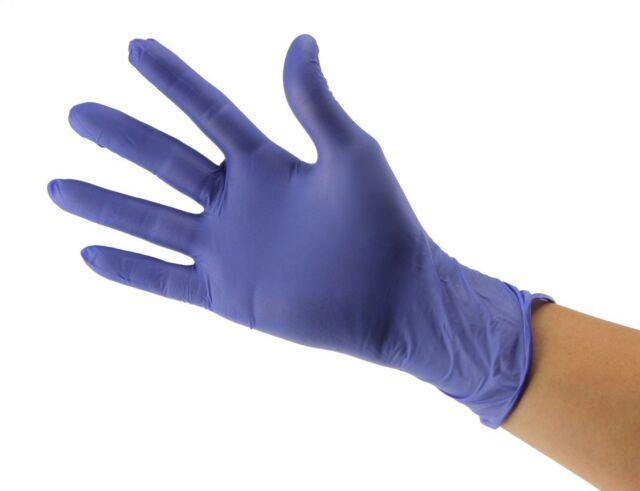 Purple Nitril Gloves